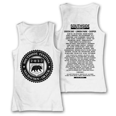 √College Badge von Southside Festival - Girlie Tank Top jetzt im Bravado Shop