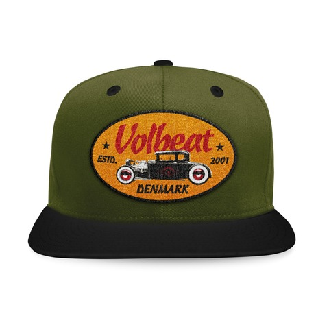 √Oval Car Badge von Volbeat - Cap jetzt im Bravado Shop