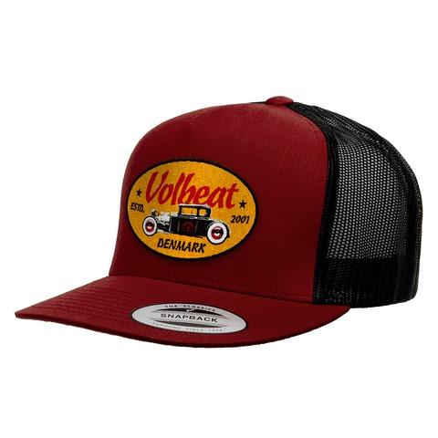 √Oval Car Badge von Volbeat - Mesh Cap jetzt im Bravado Shop