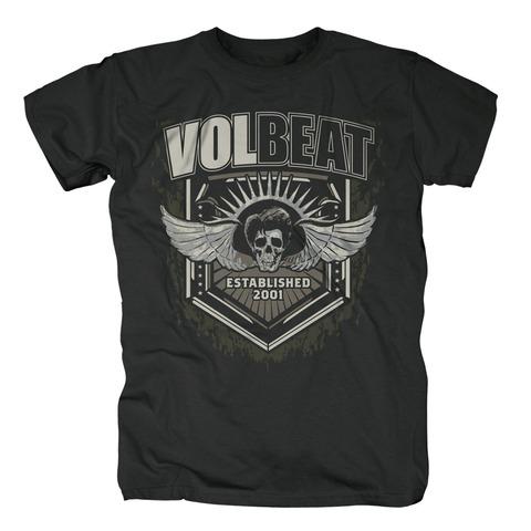 Dark Skullwing Shield von Volbeat - T-Shirt jetzt im Bravado Shop