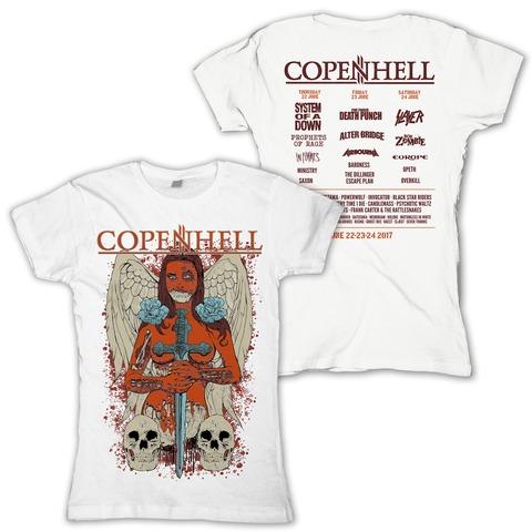 Angel of Death von Copenhell Festival - Girlie Shirt jetzt im Bravado Shop