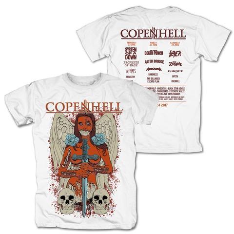 Angel of Death von Copenhell Festival - T-Shirt jetzt im Bravado Shop