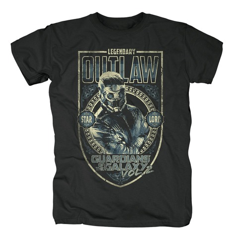 √Legendary Outlaw von Guardians of the Galaxy - T-Shirt jetzt im Bravado Shop