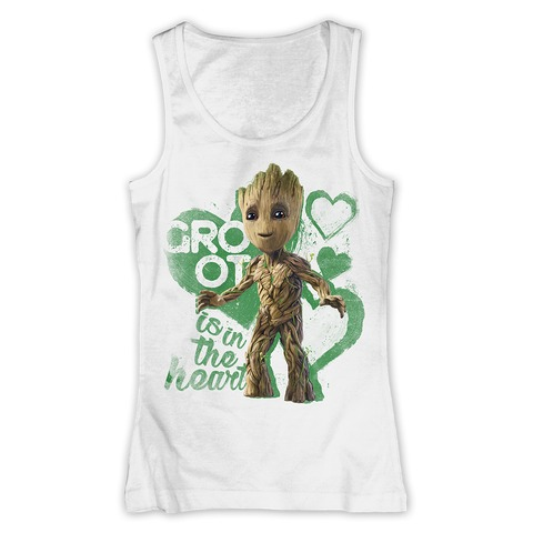 √Groot Is In The Heart von Guardians of the Galaxy - Girlie Top jetzt im Bravado Shop