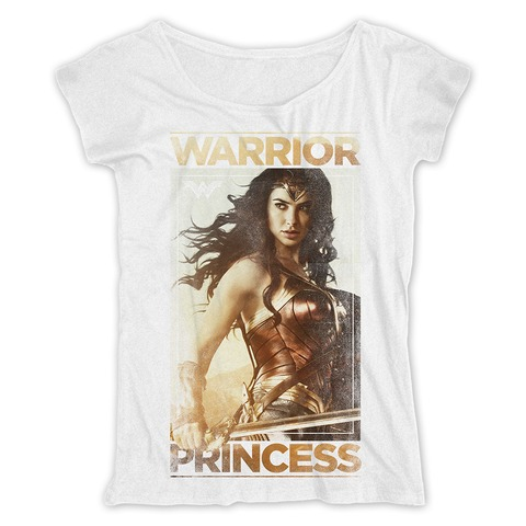 Warrior Princess von Wonder Woman - Loose Fit Girlie Shirt jetzt im Bravado Shop