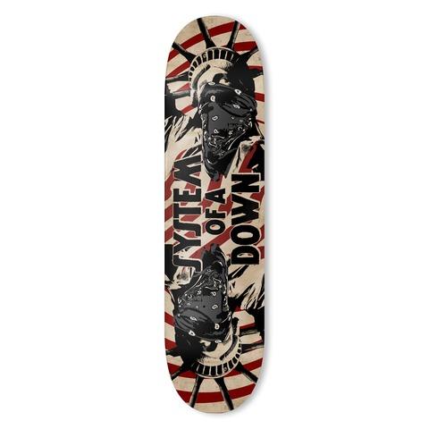 √Liberty Bandit von System of a Down - Skateboard Deck jetzt im Bravado Shop