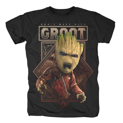 √Don't Mess With Groot von Guardians of the Galaxy - T-Shirt jetzt im Bravado Shop