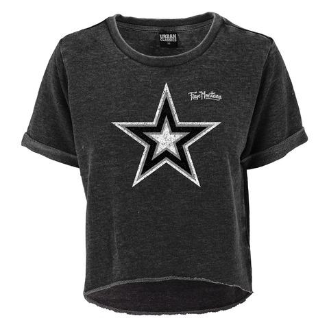 Big Star von Faye Montana - Girlie Sweat Shirt kurzarm jetzt im Bravado Shop