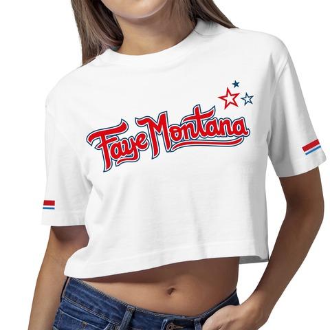 Swoosh and Stars von Faye Montana - Girlie Shirt jetzt im Bravado Shop