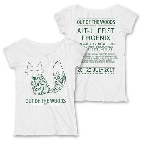 Fox von Out Of The Woods - Girlie Shirt Loose Fit jetzt im Bravado Shop