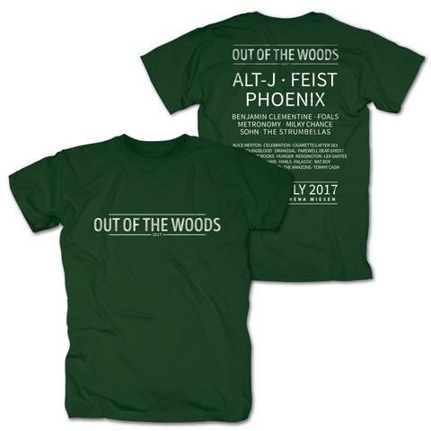 Logo von Out Of The Woods - T-Shirt jetzt im Bravado Shop