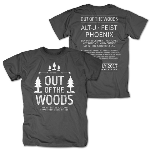 In The Trees von Out Of The Woods - T-Shirt jetzt im Bravado Shop