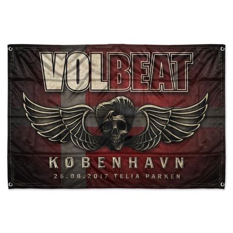 Copenhagen Event Flag von Volbeat - Flagge jetzt im Bravado Shop