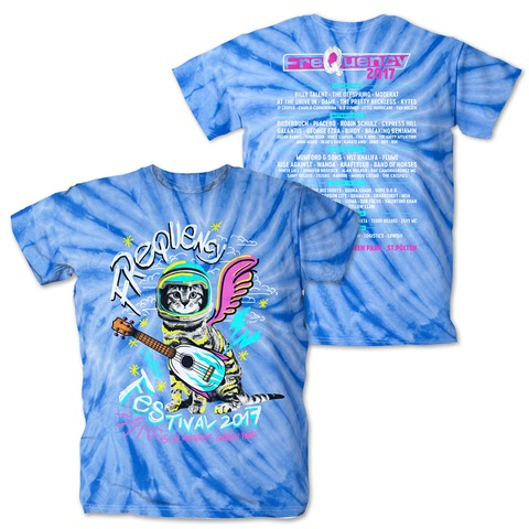 √Guitar Cat von Frequency Festival - T-Shirt jetzt im Bravado Shop
