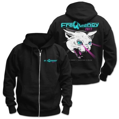 √Laser Cat von Frequency Festival - Kapuzenjacke jetzt im Bravado Shop