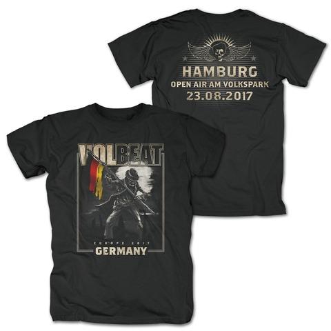 Event 23.8.17 Hamburg von Volbeat - T-Shirt jetzt im Bravado Shop
