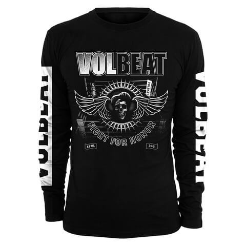 √Fight For Honor von Volbeat - Long-sleeve jetzt im Bravado Shop