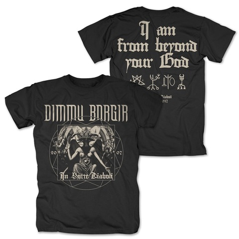 √In Sorte Diaboli Anniversary von Dimmu Borgir - T-Shirt jetzt im Bravado Shop