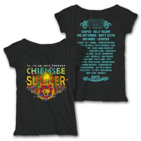 √Party Lion von Chiemsee Summer - Girlie Shirt jetzt im Bravado Shop