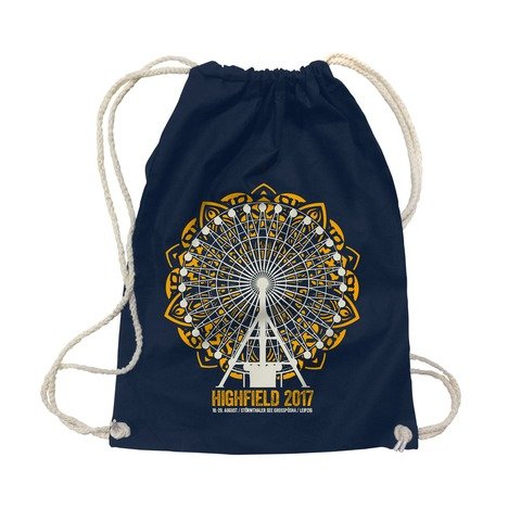 √Big Wheel Mandala von Highfield Festival - Gym Bag jetzt im Bravado Shop