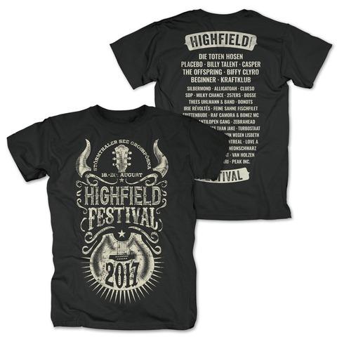 Horny Guitar von Highfield Festival - T-Shirt jetzt im Bravado Shop