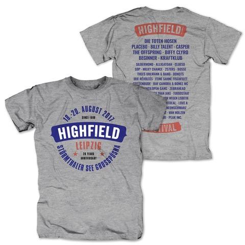 Logo von Highfield Festival - T-Shirt jetzt im Bravado Shop