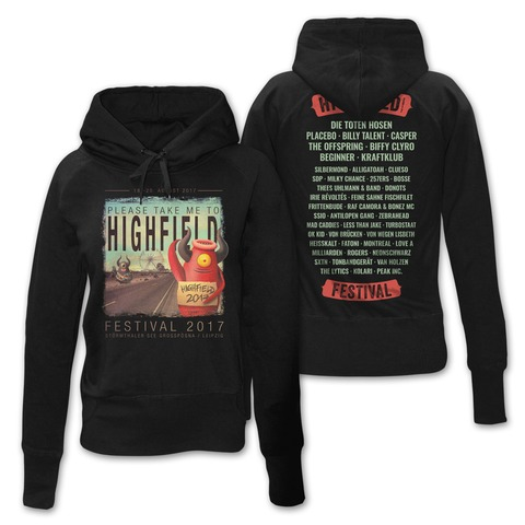 √Pick Me Up von Highfield Festival - Girlie hooded sweater jetzt im Bravado Shop