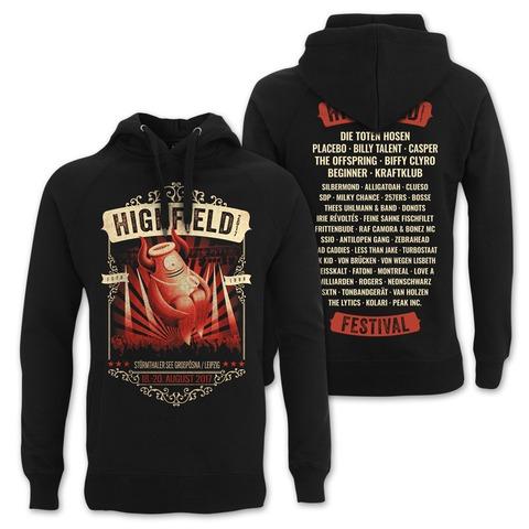 √Stagediver von Highfield Festival - Hood sweater jetzt im Bravado Shop