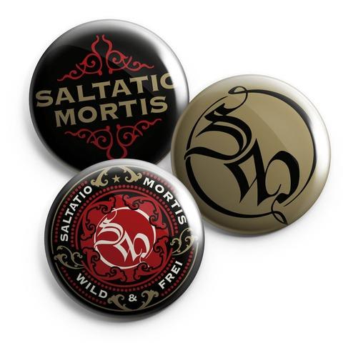 Ornament von Saltatio Mortis - Button 3-er Set jetzt im Bravado Shop