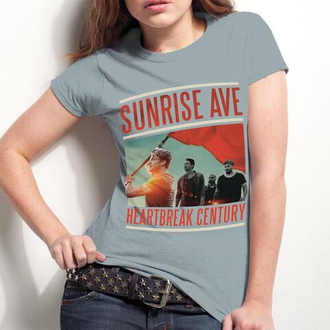√Heartbreak Century Cover von Sunrise Avenue - Girlie Shirt jetzt im Bravado Shop