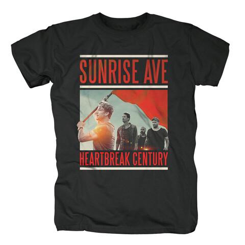 √Heartbreak Century Cover von Sunrise Avenue - T-Shirt jetzt im Bravado Shop