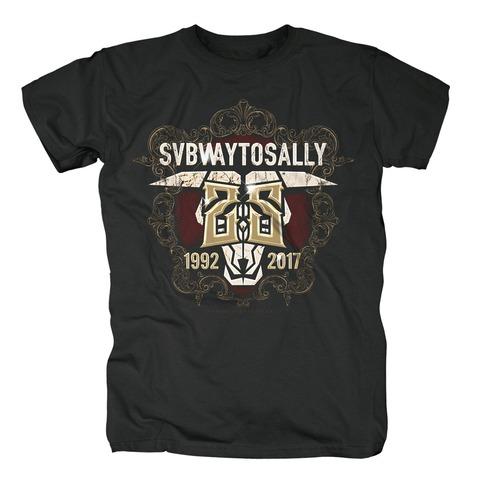 √25 Years von Subway To Sally - T-Shirt jetzt im Bravado Shop