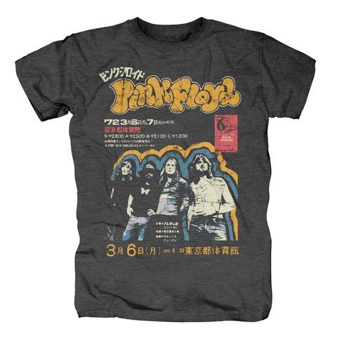Japan 1972 von Pink Floyd - T-Shirt jetzt im Bravado Shop