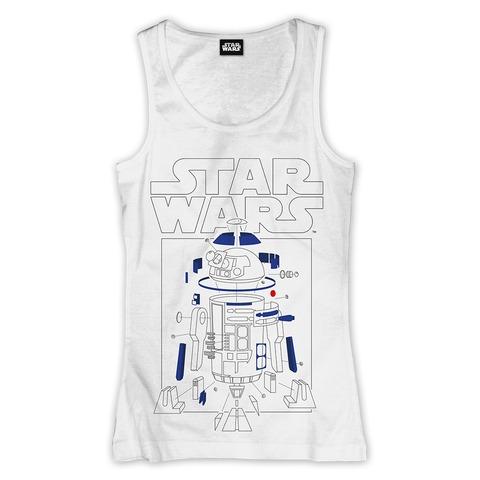 √R2-D2 Components von Star Wars - Girlie tank shirt jetzt im Bravado Shop