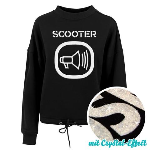 √Logo von Scooter - Girlie Oversized Sweater jetzt im Bravado Shop