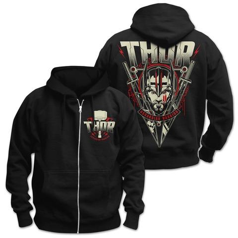 √Asgardian Warrior von Thor - Hooded jacket jetzt im Bravado Shop