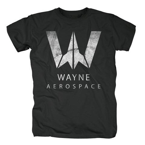 √Wayne Aerospace von Justice League - T-Shirt jetzt im Bravado Shop