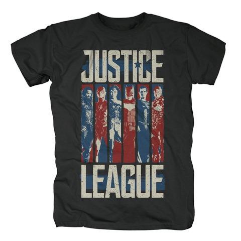 Character Stripes von Justice League - T-Shirt jetzt im Bravado Shop