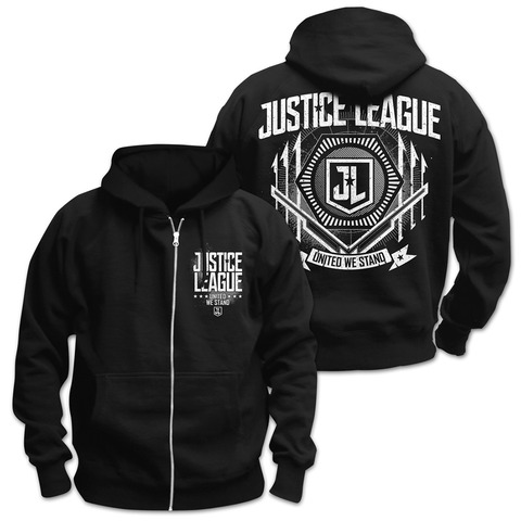 √United Crest von Justice League - Hooded jacket jetzt im Bravado Shop