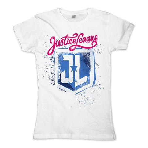 Painted Logo von Justice League - Girlie Shirt jetzt im Bravado Shop