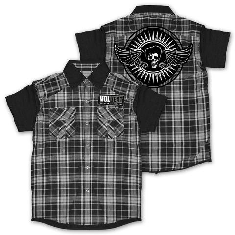 √Skullwing Circle von Volbeat - Worker Shirt jetzt im Bravado Shop
