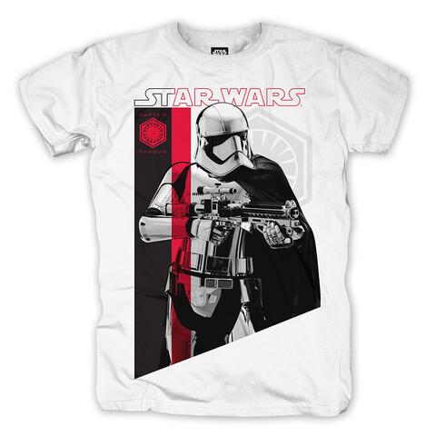 √Captain Phasma von Star Wars - T-Shirt jetzt im Bravado Shop