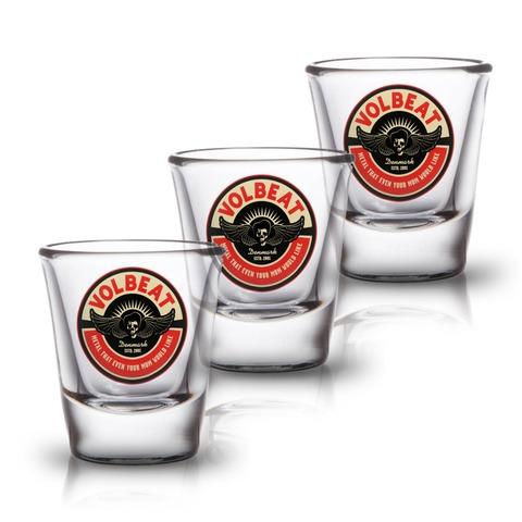 Circle Mom von Volbeat - 3er Set Shot Glas jetzt im Bravado Shop