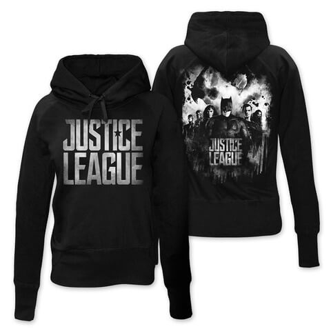 √Splatter Squad von Justice League - Girlie Kapuzenpullover jetzt im Bravado Shop