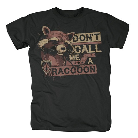 Dont Call Me A Raccoon von Guardians of the Galaxy - T-Shirt jetzt im Bravado Shop