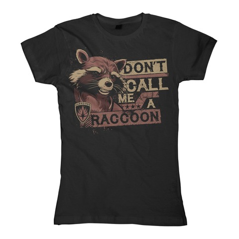 √Don't Call Me A Raccoon von Guardians of the Galaxy - Girlie Shirt jetzt im Bravado Shop