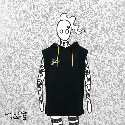 √CY-BEAST lvl1-Hoodie von Taddl - Kapuzenpullover sleeveless jetzt im Bravado Shop