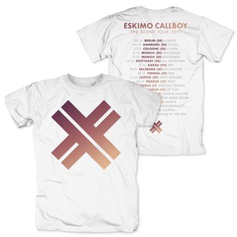 √The Scene European Tour 2017 von Eskimo Callboy - T-Shirt jetzt im Bravado Shop