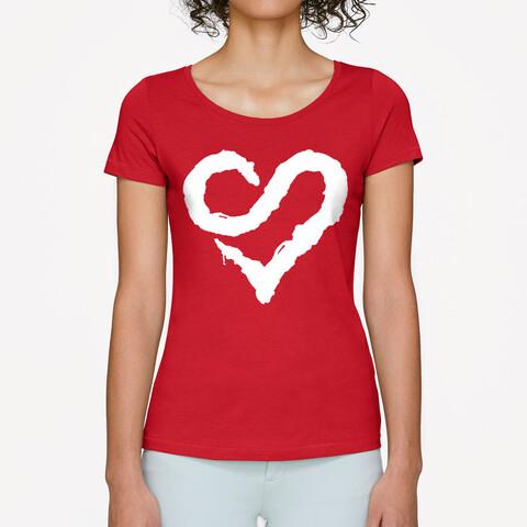 √Logo Heart von Sunrise Avenue - Girlie Shirt jetzt im Bravado Shop