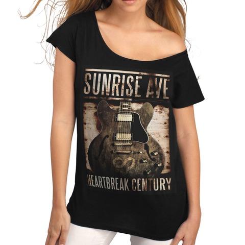 Century Guitar von Sunrise Avenue - Girlie Shirt jetzt im Bravado Shop